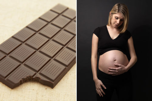 Chocolate, health, health news, women's health, maternal health, preeclampsia, pregnancy,