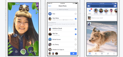 Facebook introduced Stories, like Snapchat